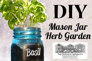 mason jar blog header