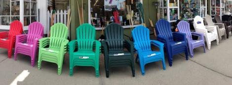 Adirondack Chairs Timeline Photo